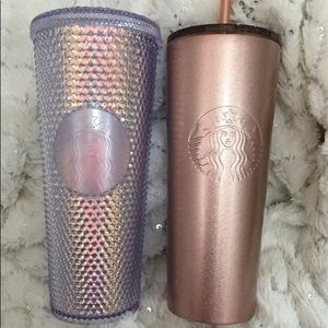 Starbucks Tumblers. Both new and hard to find.